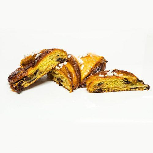 Kranz albicocca e cioccolato